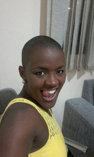 Ao site do programa, Angélica Ramos diz que passou a ser mais requisitada como modelo após raspar a cabeça