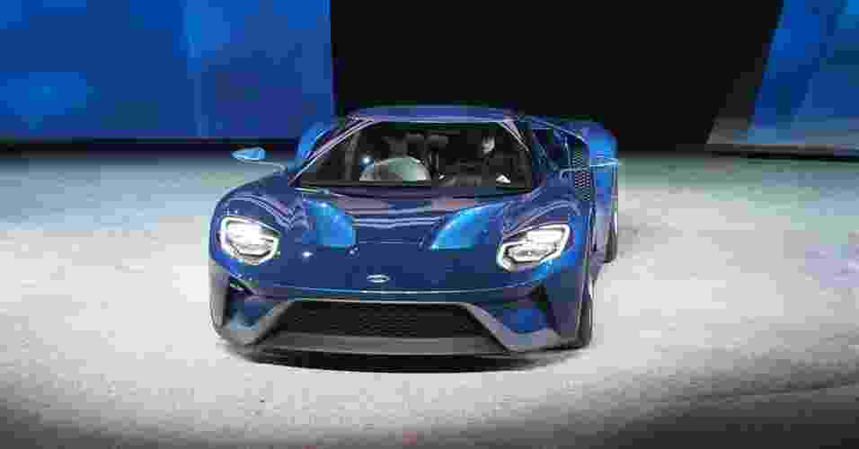 Ford GT no Salão de Detroit 2015 - Newspress