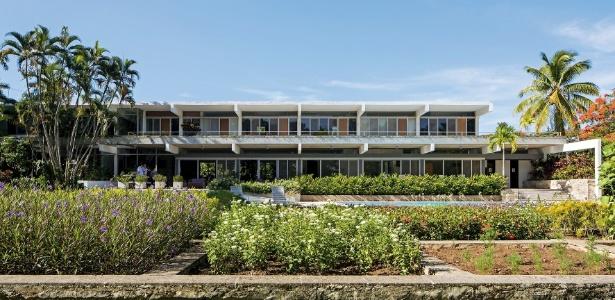 Casa de 1956, em Cuba, tem projeto de Richard Neutra e é exemplo de Modernismo - Leonardo Finotti/ UOL