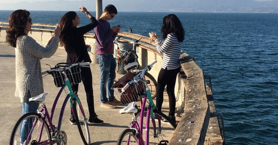 13.jan.2015 - William Bonner faz a vez de fotógrafo da família e mostra detalhes de sua viagem de férias à Califórnia, nos Estados Unidos, em sua conta do Instagram, nesta terça-feira