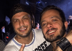 Antes de estrear novo BBB, ex-brothers se encontram em boate em Curitiba - Reprodução/Instagram/zagonelmarcelo