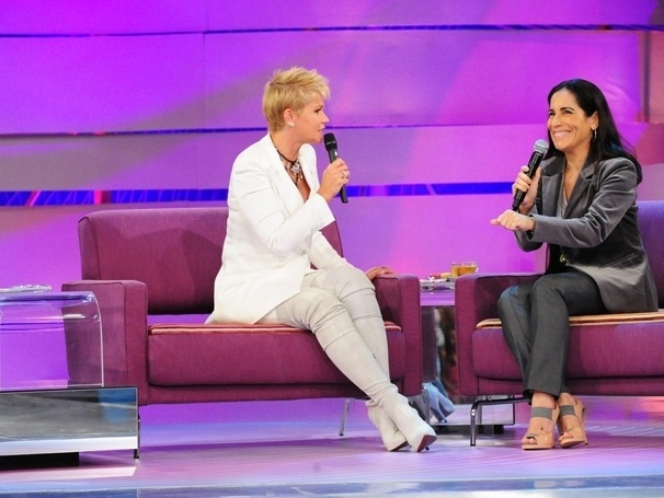 """15.jan.2015 - Já Xuxa está fora fora do ar desde janeiro do ano passado, quando foi exibido o último """"TV Xuxa"""", que ela comandava desde 2005."""