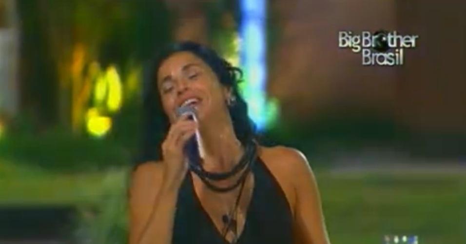 """Daniela Mercury canta para os brothers no """"BBB12"""""""