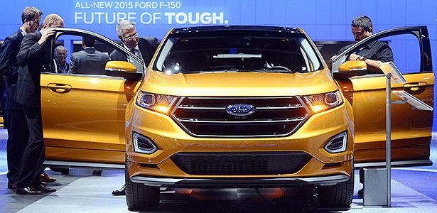 3. Ford Edge 2015 - Frederic J. Brown/AFP 19.11.2014 - Frederic J. Brown/AFP 19.11.2014