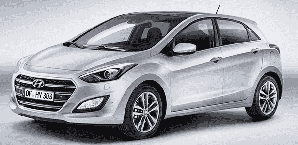 Hyundai i30 2015 - Divulgação - Divulgação