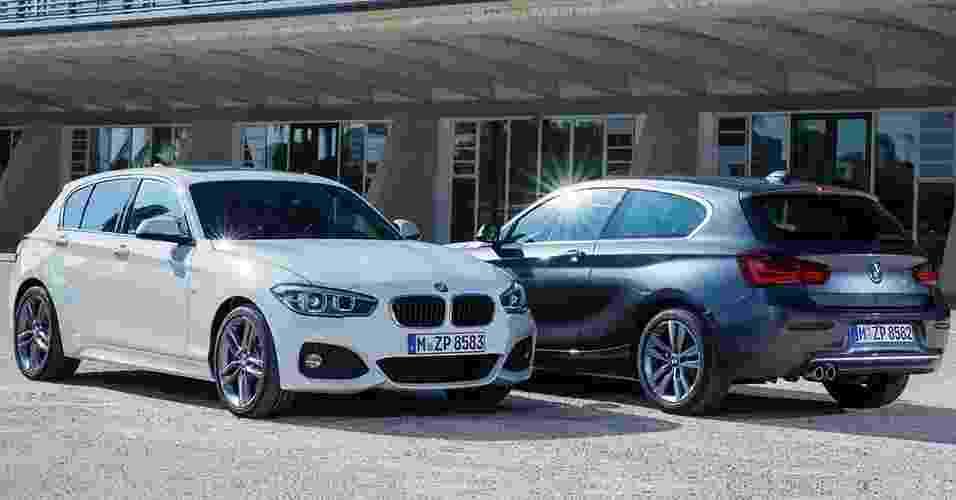 BMW Série 1 2016 - Divulgação