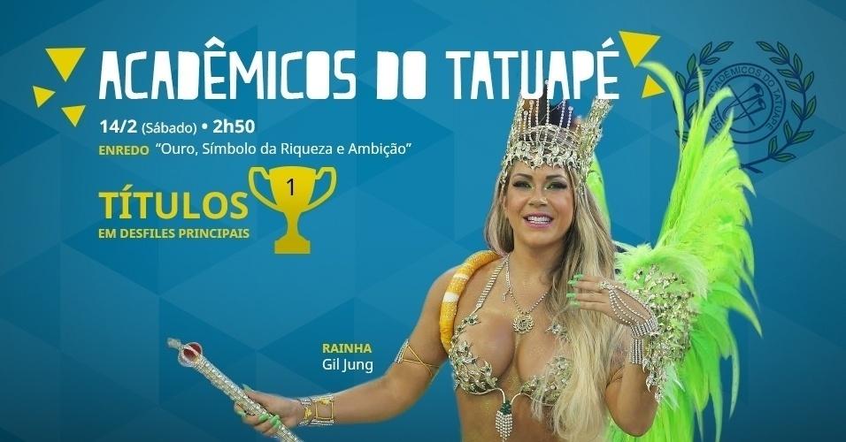carnaval 2015 - Acadêmicos do Tatuapé
