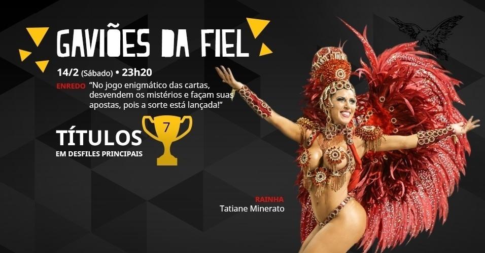 carnaval 2015 - gaviões da fiel