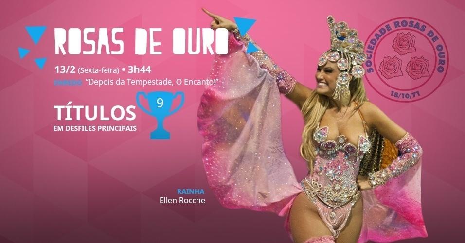 carnaval 2015 - rosas de ouro
