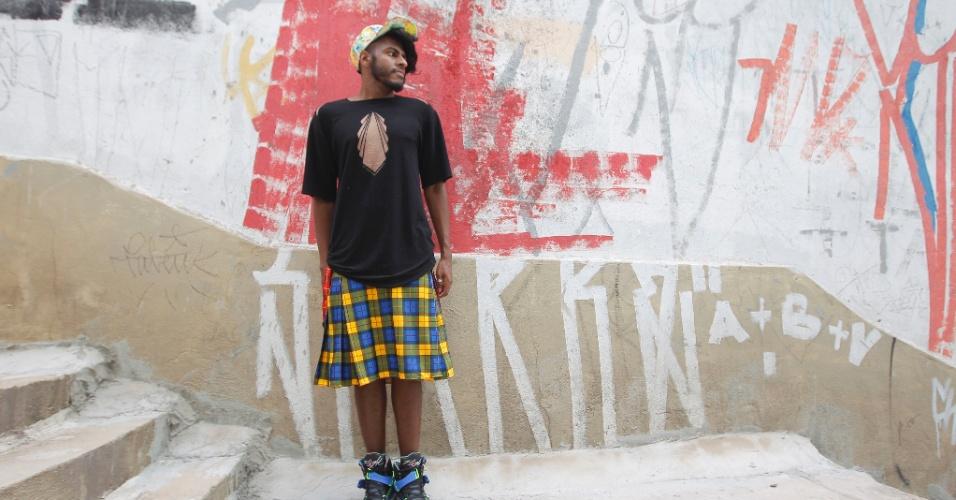 """Gay assumido, Rico Dalasam se lança como rapper: """"O rap e a igreja são bem parecidos"""""""