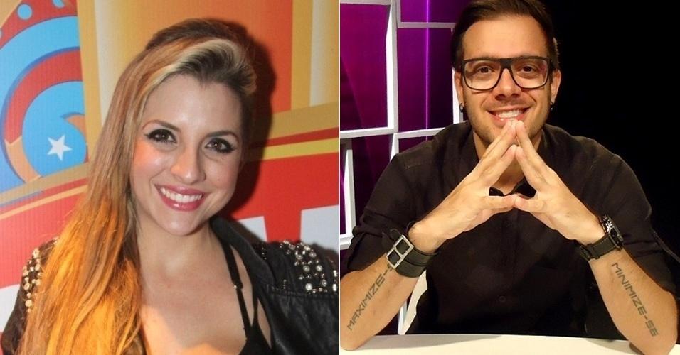 Os ex-BBBs Clara Aguilar e Max Porto, que já eram amigos antes de participarem do programa