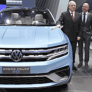 Volkswagen Cross Coupe GTE Concept - Jonathan Knight/AFP