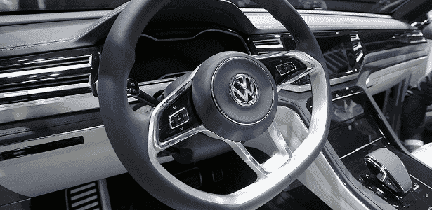 Volkswagen Cross Coupe GTE Concept interior - Mark Blinch/Reuters - Mark Blinch/Reuters