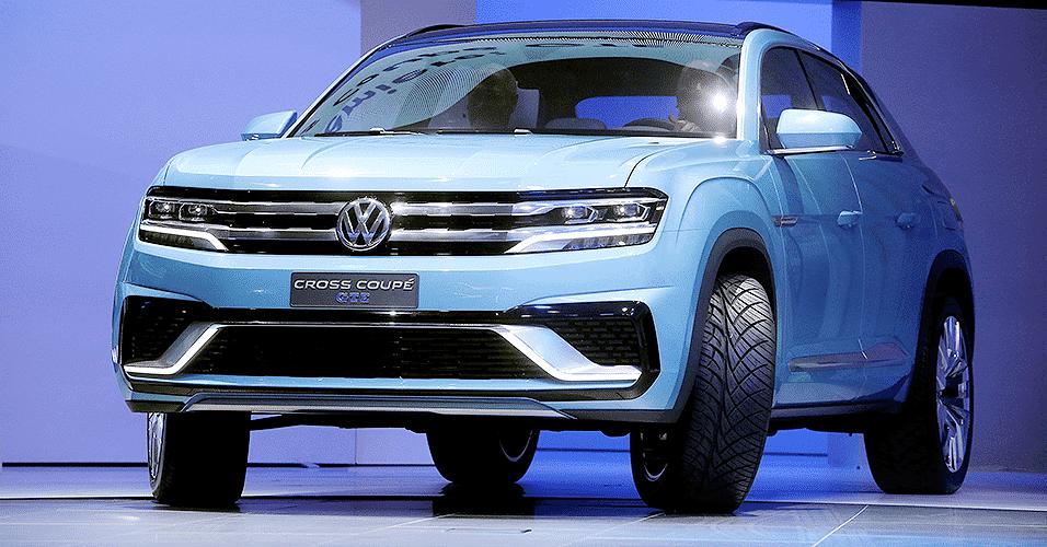 Volkswagen Cross Coupe GTE Concept - Regina H. Boone/Xinhua