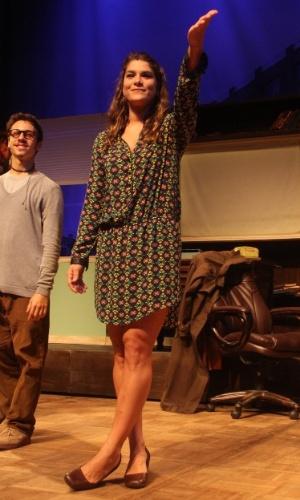 16.jan.2015 - Priscila Fantin estreia seu espetáculo
