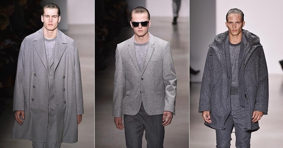 62f02f0d3df04 Semana de Moda Masculina de Milão apresenta tendências para o Inverno 2015  - BOL Fotos - BOL Fotos