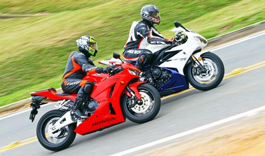 Honda CBR 600RR vs. Triumph Daytona 675