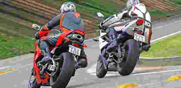 Honda CBR 600RR vs. Triumph Daytona 675 - Mario Villaescusa - Mario Villaescusa