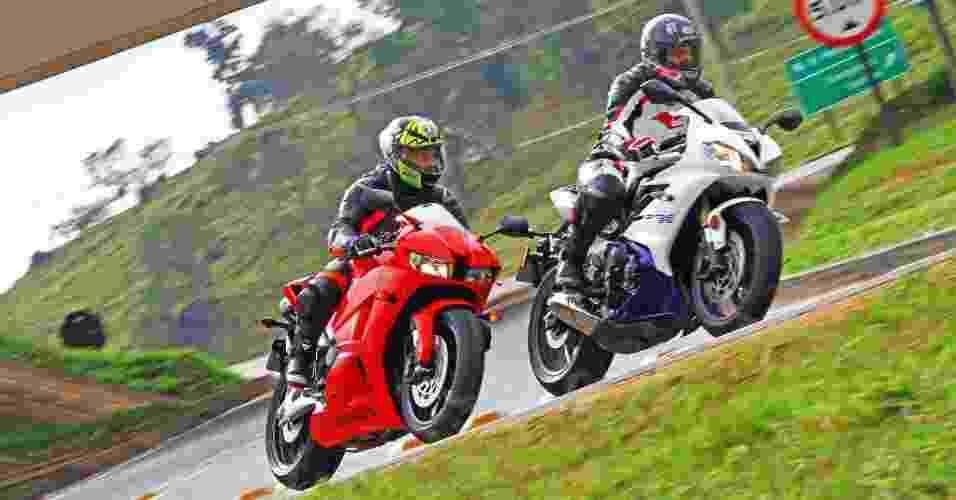Honda CBR 600RR vs. Triumph Daytona 675 - Mario Villaescusa