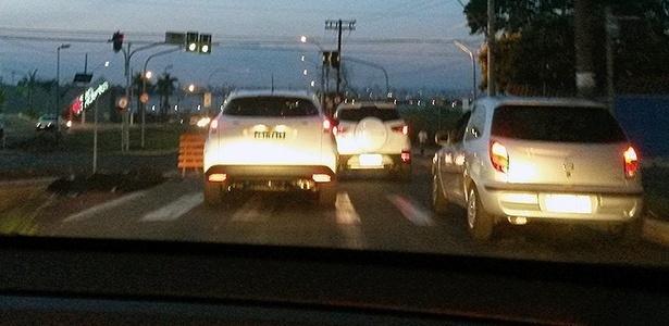 Feito no Brasil em março, jipinho HR-V tem porte semelhante ao de um Ford EcoSport - Matheus Milani/UOL
