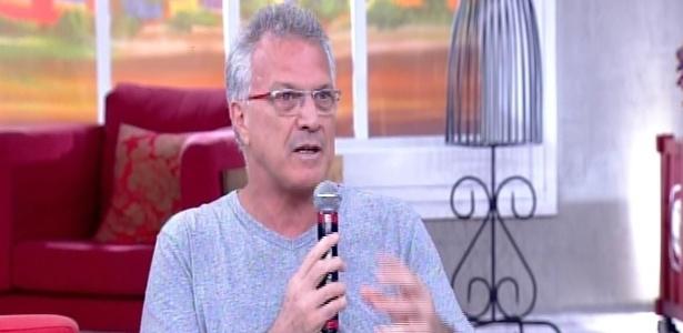 """Pedro Bial fala sobre a desistência de Rogério Alves de entrar no """"BBB15"""" no """"Encontro com Fátima Bernardes"""""""