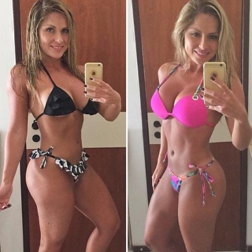 """Renata Dávila, a famosa Renatchenha, fez sucesso dentro e fora do reality. Ela esteve no """"BBB12"""" e é lembrada como a maior beijoqueira do reality show"""