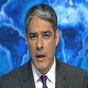 """William Bonner no comando do """"Jornal Nacional"""""""