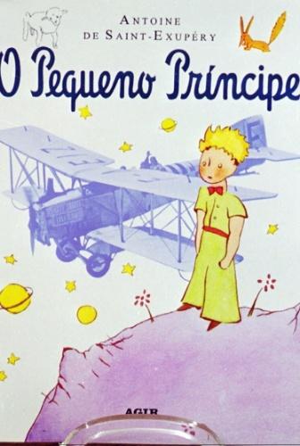 """Capa da edição de """"O Pequeno Príncipe"""", da editora Agir, que tinha os direitos de publicação da obra no Brasil desde 1952"""