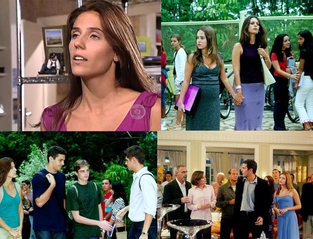 8a TEMPORADA - De maio de 2001 até abril de 2002 - O casal protagonista é formado por Gui (Iran Malfitano) e Nanda (Rafaela Mandelli), que tem que lidar com crises familiares e a inveja de Valéria (Bianca Castanho)