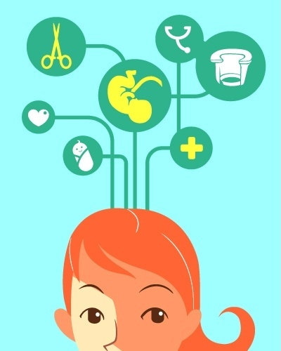álbum com estratégias para a mulher ter um parto natural | INFORMAÇÃO | Procure saber o que é e como acontece o parto natural, conversando com especialistas e pesquisando na internet e em livros sobre o assunto