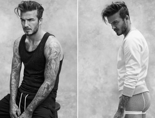 David Beckham é a estrela da nova coleção masculina da H&M - Divulgação