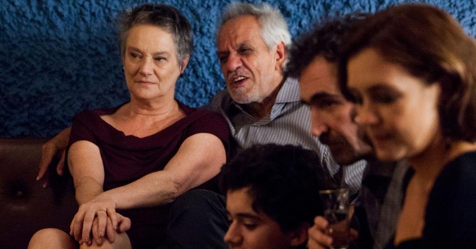 Norma e Dionísio reúnem a família para comemorar seus 46 anos de casamento