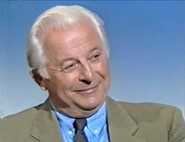 O tenor austríaco Waldemar Kmentt em entrevista em 1992 - Reprodução/Youtube