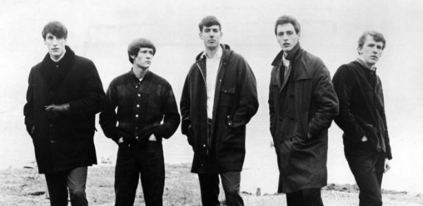 The Sonics, na formação clássica, em 1965 - Divulgação