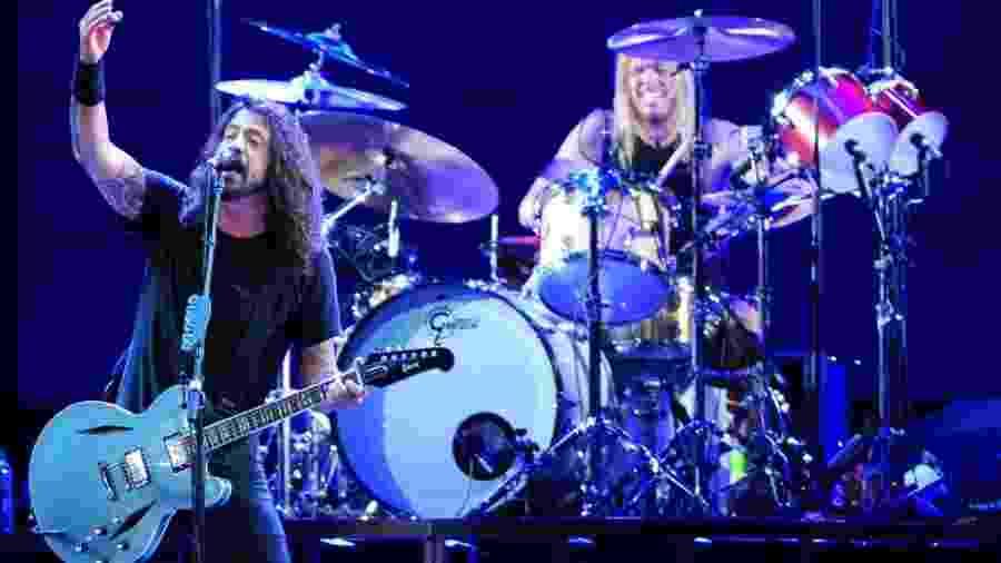 "Foo Fighters apresenta em São Paulo a turnê ""Sonic Highways"" em 2015 - Junior Lago/UOL"