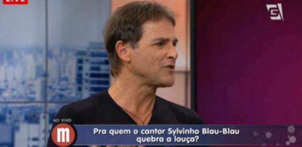 Cantor Sylvinho Blau-Blau admite ter tido problemas com drogas e álcool