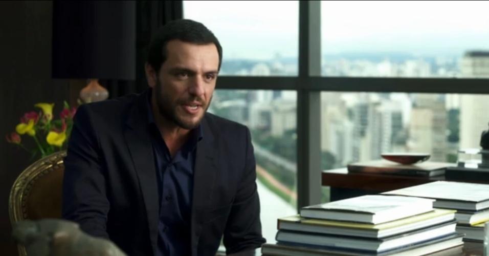 Rodrigo Lombardi em cena do filme
