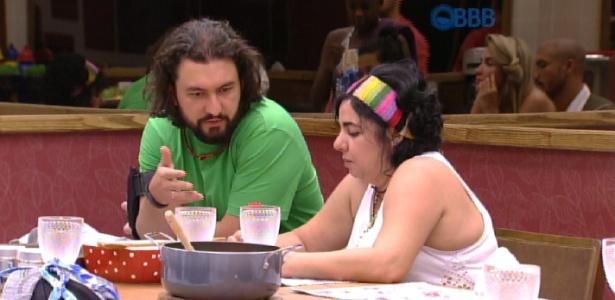 """Marco e Mariza se aproximaram no início do """"BBB15"""""""