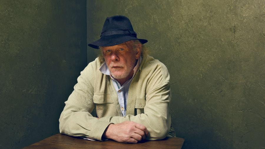 "24.jan.2015 - O ator Nick Nolte posa para retrato durante o Festival de Sundance, em Park City, Utah. Ele está no filme ""A Walk in the Woods"" - Larry Busacca/Getty Images/AFP"