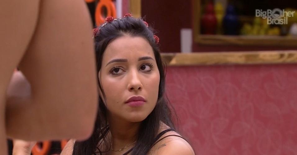 """26.jan.2015 - Talita pede para Marco celebrar o casamento dela com Rafael no """"BBB15"""""""