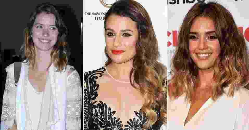 Abre dip dye hair - Getty Images/TV Globo