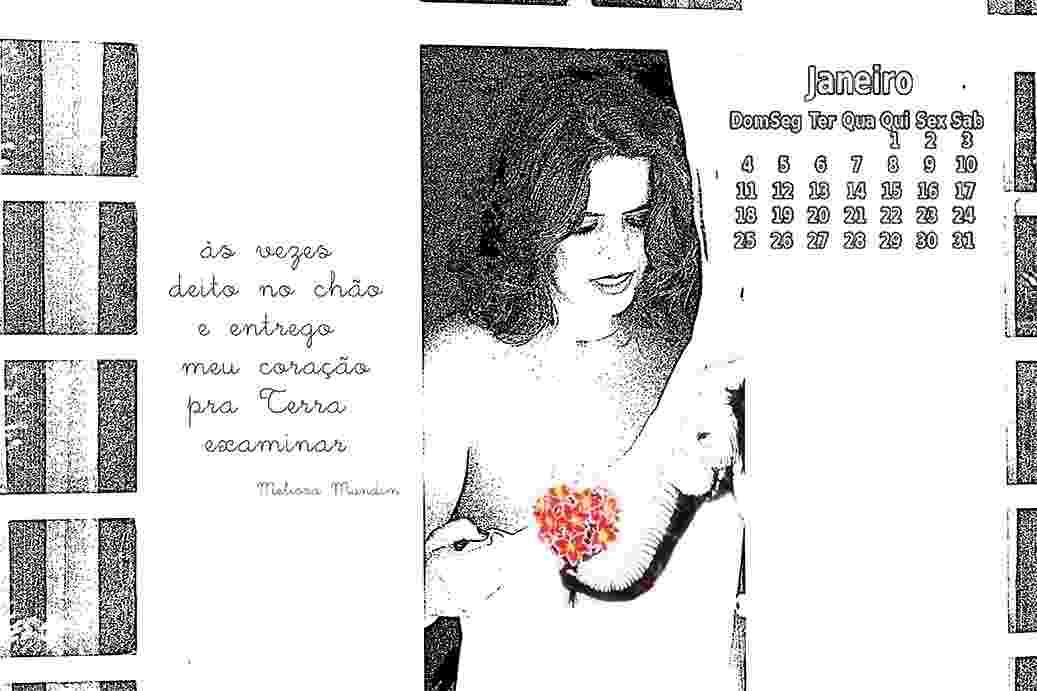 28.jan.2015 - Poetas tiram a roupa para fazer calendário e financiar obras literárias no DF - janeiro - Divulgação