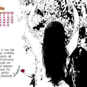 28.jan.2015 - Poetas tiram a roupa para fazer calendário e financiar obras literárias no DF - julho - Divulgação