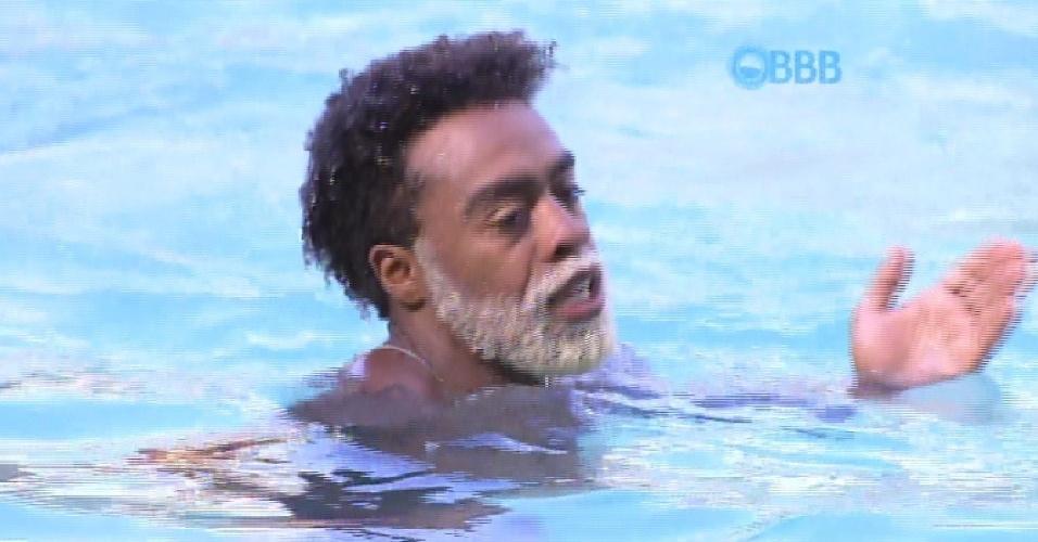 29.jan.2015 - Douglas diz que já foi confundido com o ator Lázaro Ramos