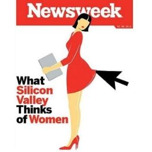 """Capa foi considerada por internautas como sendo """"desrespeitosa"""" e """"horrível"""" - Reprodução/Newsweek"""