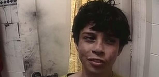 """O garoto Lucas sofre com a falta de água em episódio de """"Mundo da Lua"""" de 1991"""