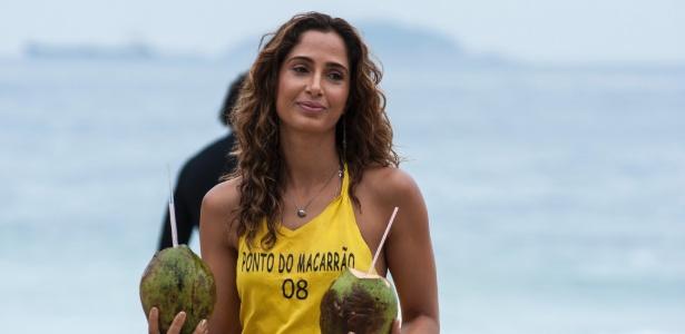 """Em """"Babilônia"""", Camila Pitanga será Regina, dona de uma barraca na praia no Leme"""