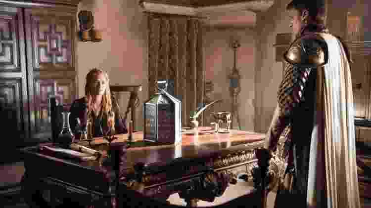 """Lena Headey como Cersei Lannister e Nikolaj Coster-Waldau como Jaime Lannister  em cena da 5ª de """"Game of Thrones"""" - Divulgação - Divulgação"""
