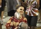 Chuva forte não desanima foliões em ensaios técnicos do Carnaval do Rio - Claudio Andrade/Photo Rio News