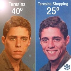 Capa de disco de Chico Buarque, de uso recorrente em memes, utilizada em publicação de shopping.